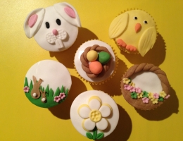 Parent and Child- Easter Cupcakes