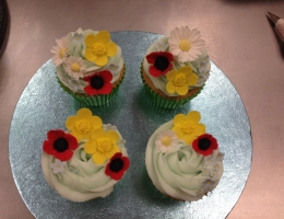 Summer Meadow Cupcakes