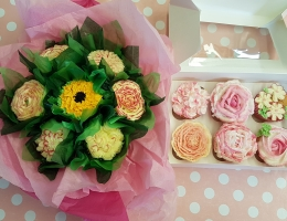 Cupcake Bouquet & Piping Day