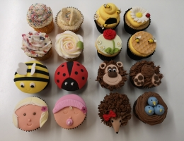 Cupcake Essentials 4 week course - The Brand New One